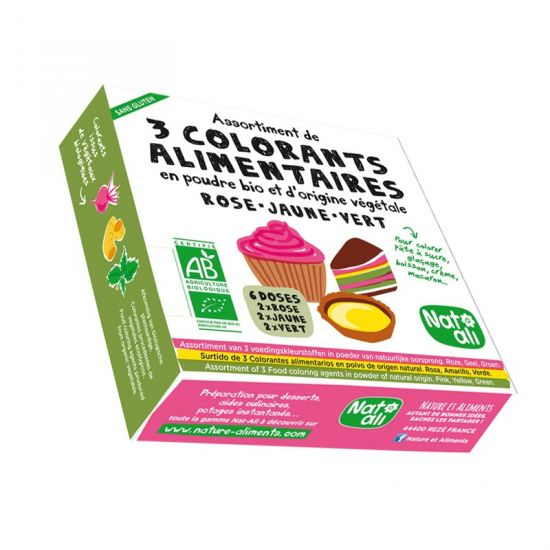 Colorants alimentaires Assortiment